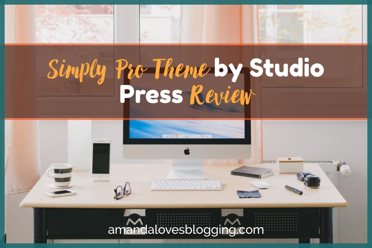 Simply Pro Theme by Studio Press Review