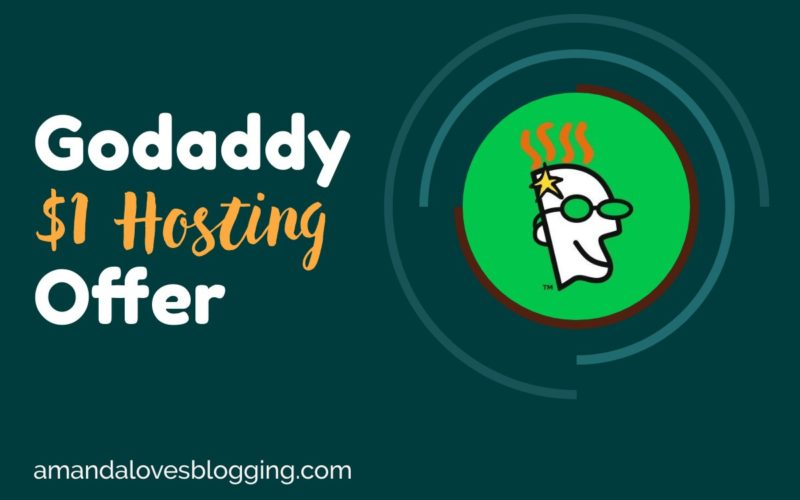 Godaddy $1 Hosting With Free Domain Name