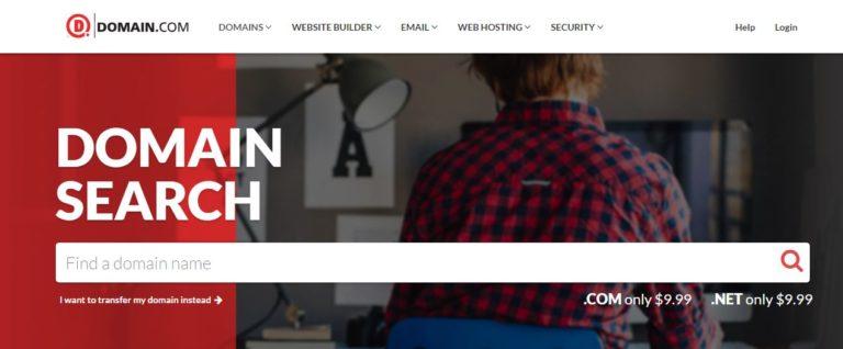 Domain com domain registrar