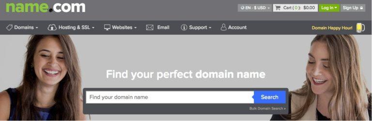 name.com domain registrar