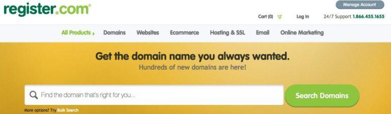 register com domain registrar