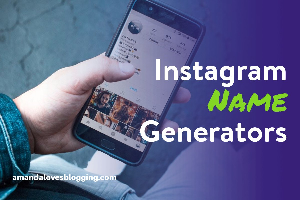 Instagram Name Generator