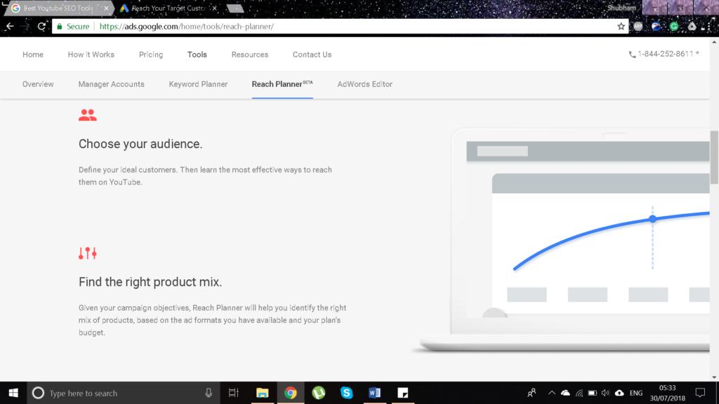 google reach planner