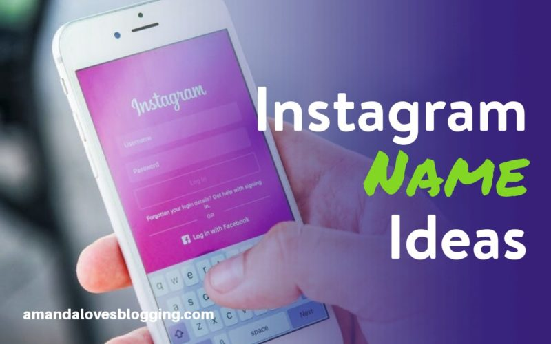 Instagram Names for Girls, Boys, Couples, & Lovers (Not Taken)