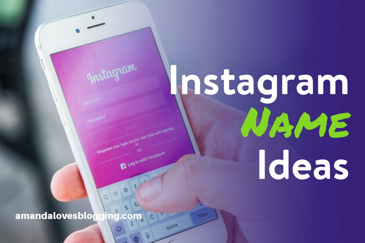 Instagram Names for Girls, Boys, Couples & Lovers (Not Taken)
