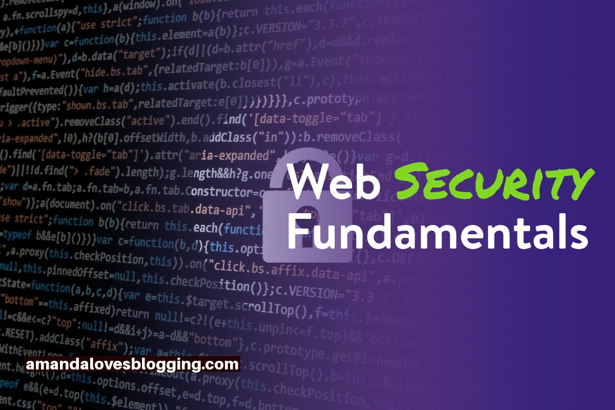 Web Security Fundamentals: What Every Developer Should Know!