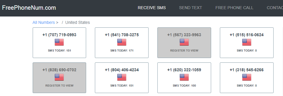Disposable Phone Number To Receive SMS